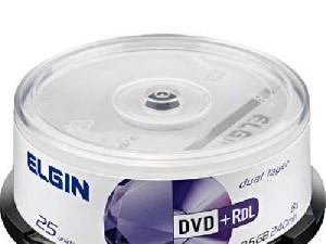 DVD-R 8.5GB ELGIN DUAL LAYER C/10